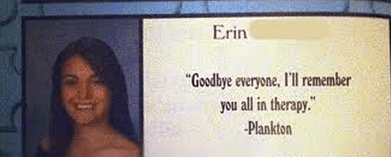 Hilarious Yearbook Quotes That Belong A Hall Of Fame Stunning Senior Yearbook Quotes