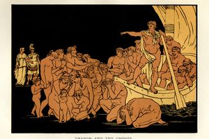 Stories from Virgil - Charon and the Ghosts