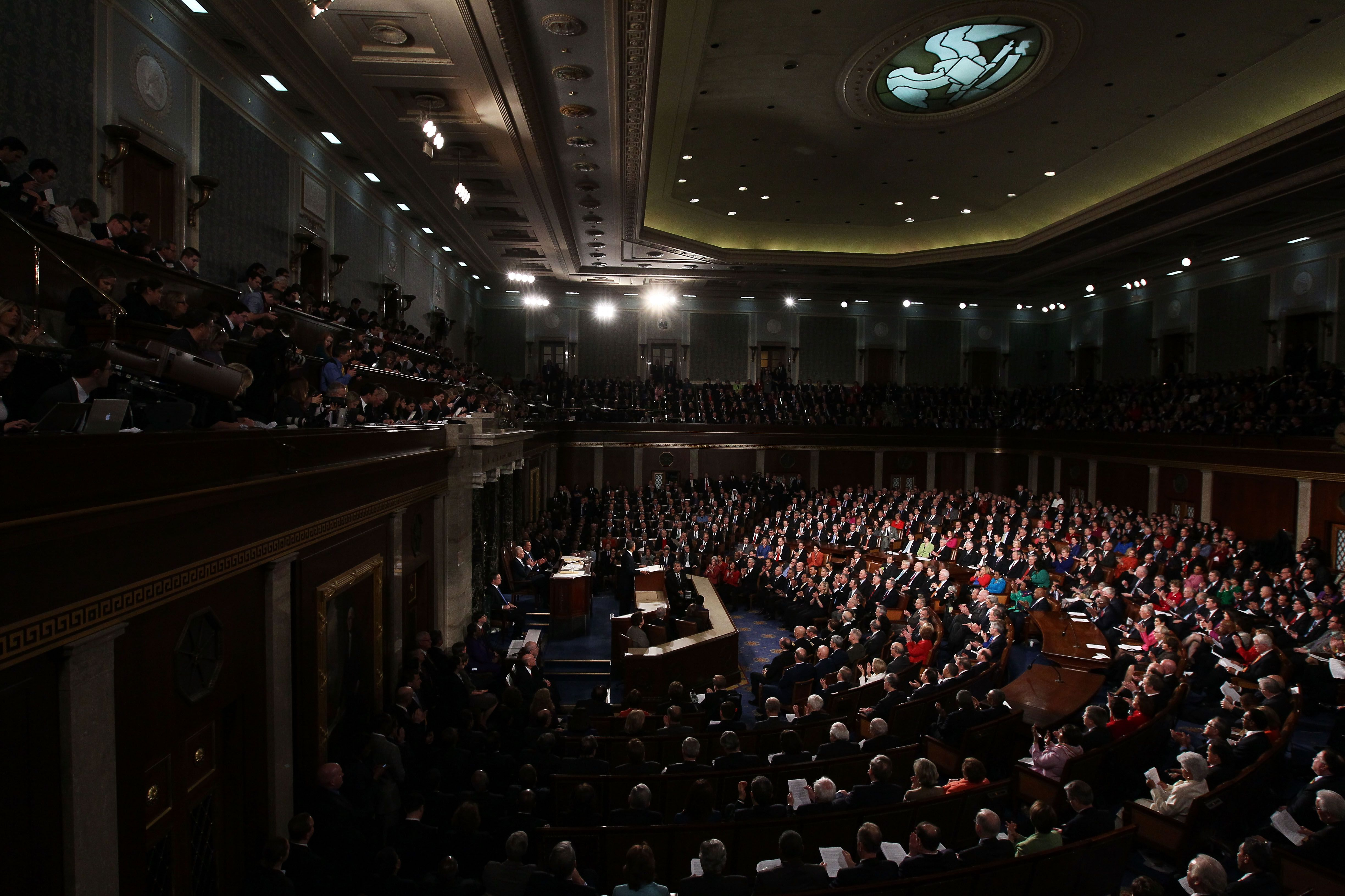 President Barack Obama delivers his State of the Union