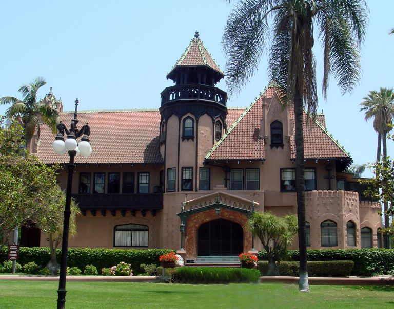 The Doheny Mansion on the Mount Saint Mary's campus in Los Angeles