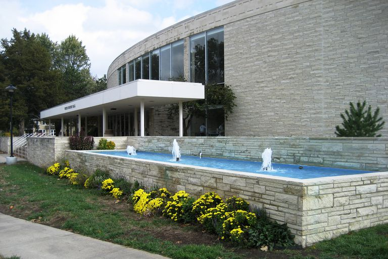 Fountain at Washburn University