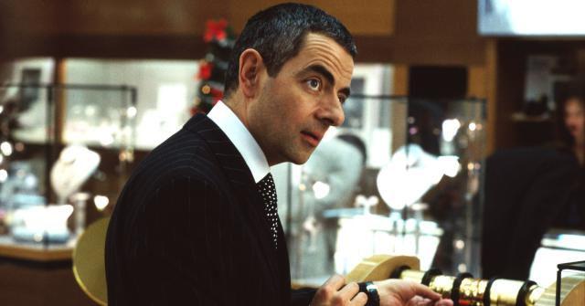 Rowan Atkinson in Love Actually