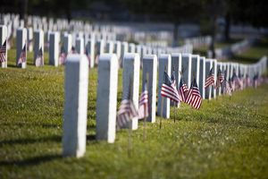 Memorial Day at the Cemetery
