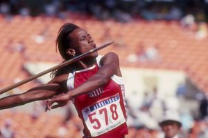 Jackie Joyner-Kersee, Javelin Throw, Olympics, Seoul, 1988