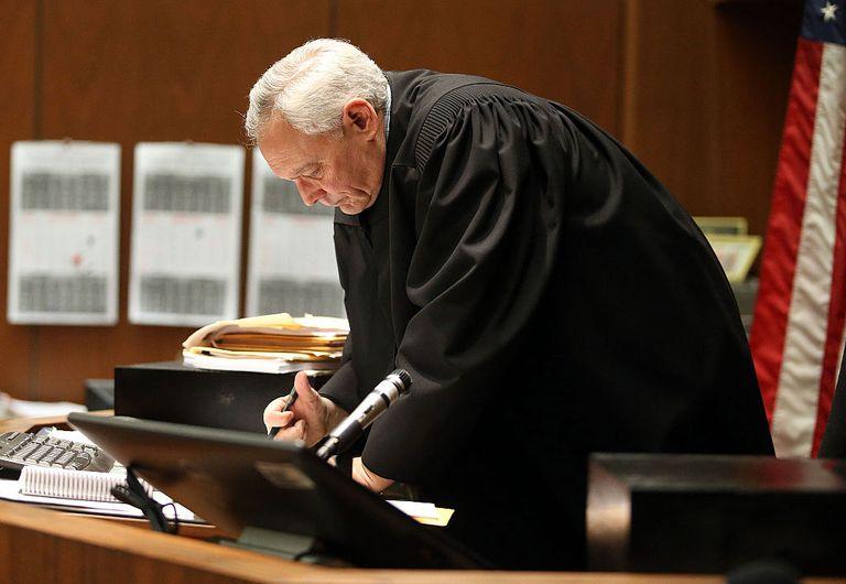 Juez en Corte en Estados Unidos.