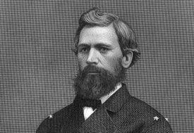 Engraved portrait of General Oliver Otis Howard
