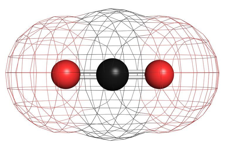 The double bond connecting the carbon and oxygen in carbon dioxide makes the molecule highly stable, so it doesn't readily pick up a hydrogen atom and become organic.