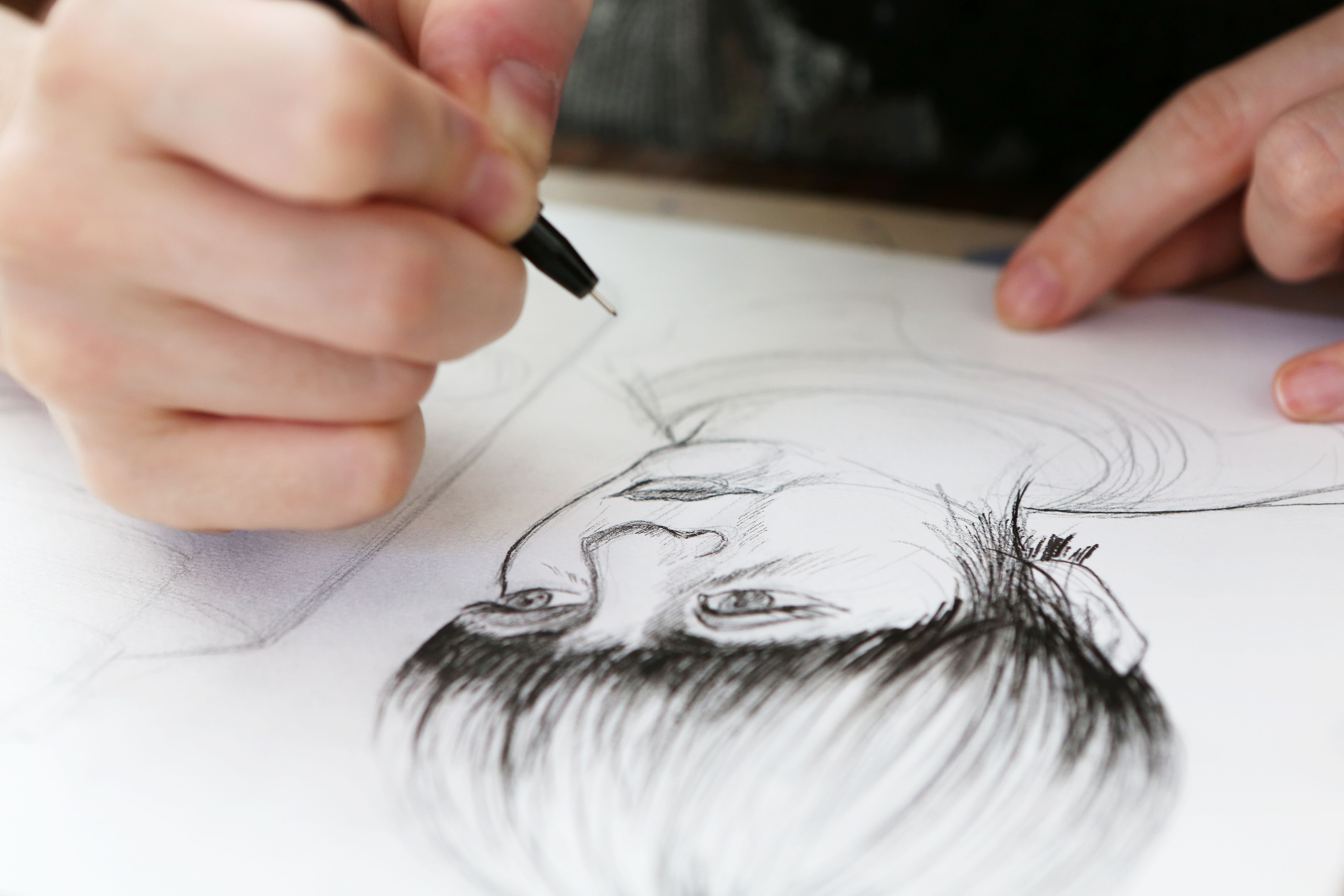 Sketching Exercise: How to Sketch People's Faces
