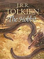 Cover of Tolkien's The Hobbit, illustrated by Alan Lee
