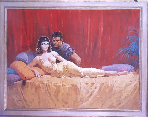 Painting From The Movie Cleopatra