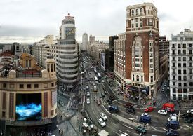 Madrid for a lesson on the imperfect tense