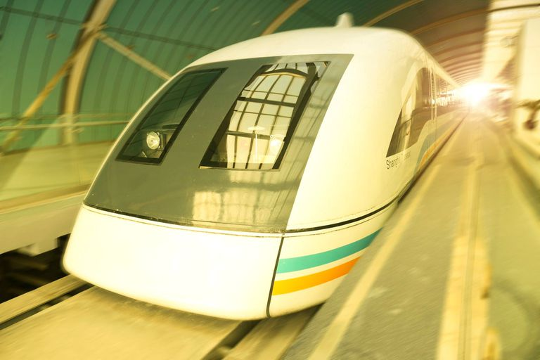 Maglev train in Shanhgai China