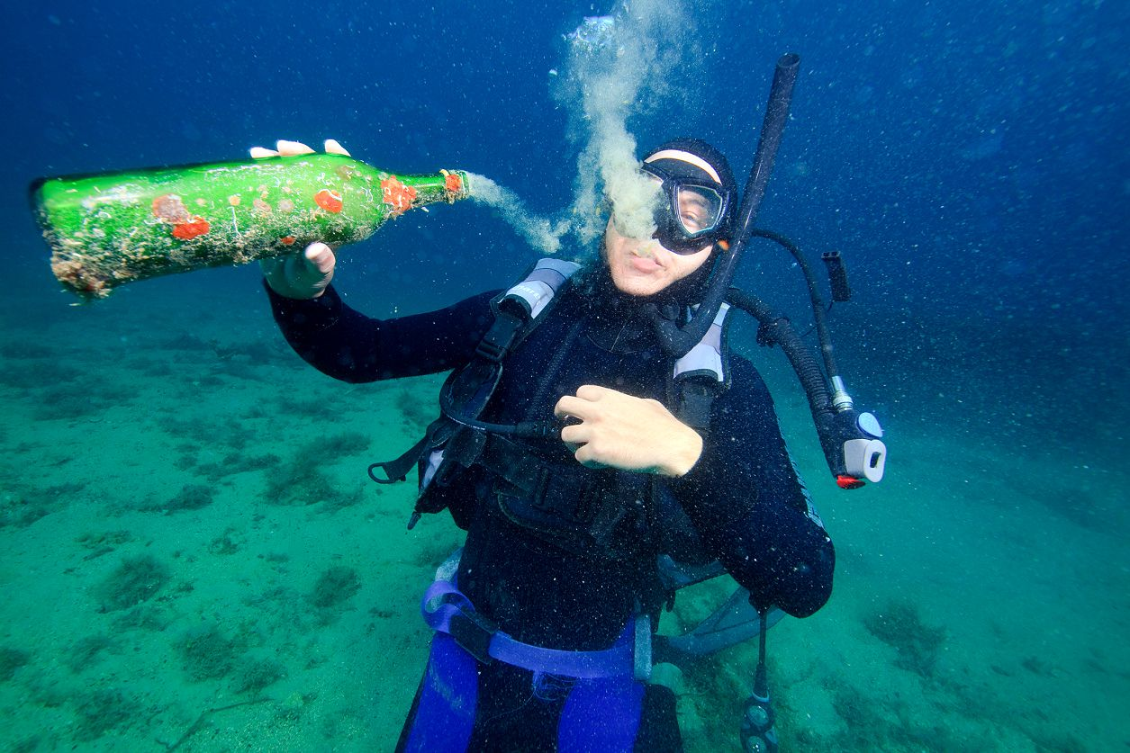 The Martini Effect In Scuba Diving