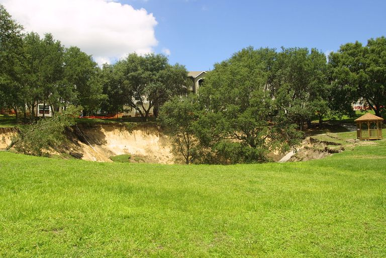 Florida Sinkhole Measures 60 Feet Deep