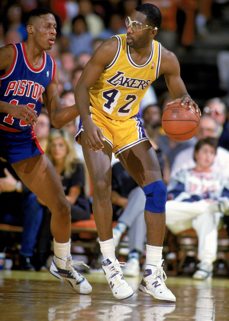 James Worthy of the Los Angeles Lakers