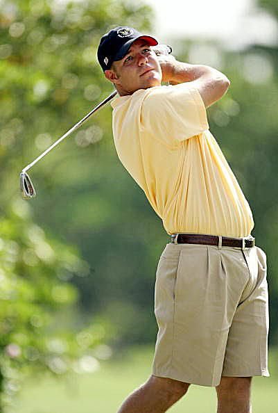 Golfer Ryan Moore in 2004