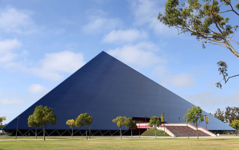 Walter Pyramid at Cal State University, Long Beach