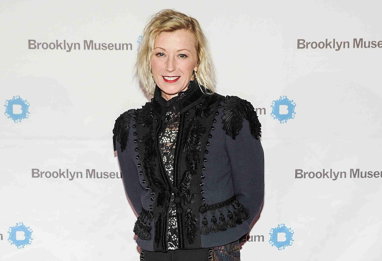 Cindy Sherman in a black jacket