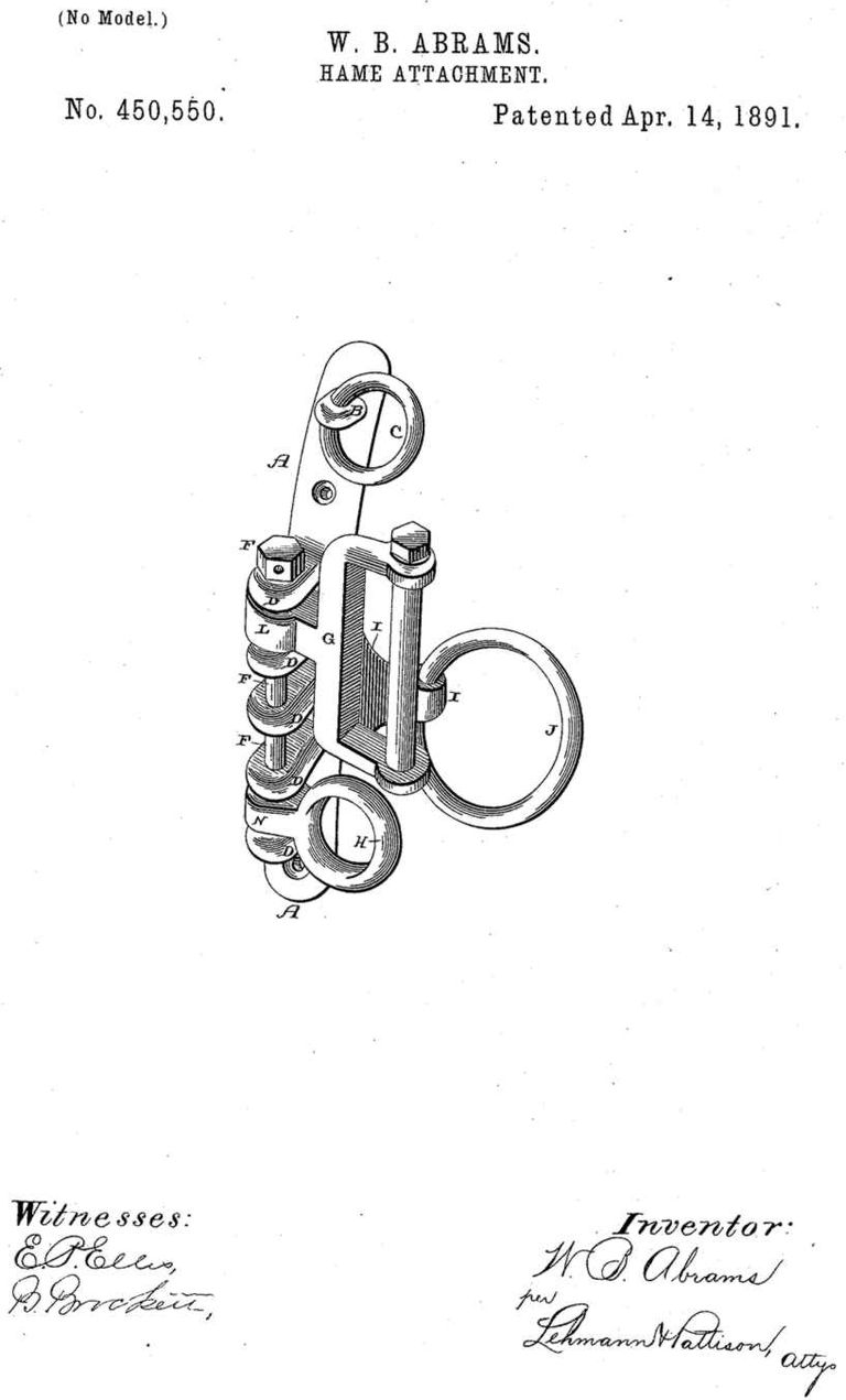 William Abrams - Patent Drawing