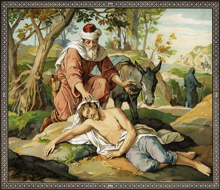 Image result for images of THE GOOD SAMARITAN IN THE BIBLE