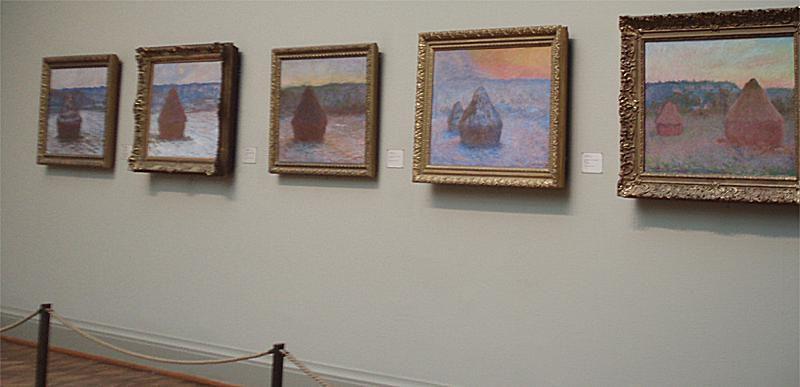 Haystack Series - Monet - Art Institute of Chicago