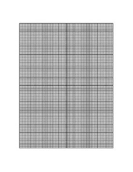 This printable graph paper has a 5x5 grid with 10 lines per inch and a centered X-Y axis.