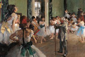 The Dance Class by Edgar Degas