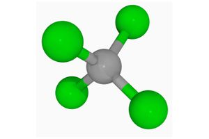 Carbon tetrachloride arist's renditon