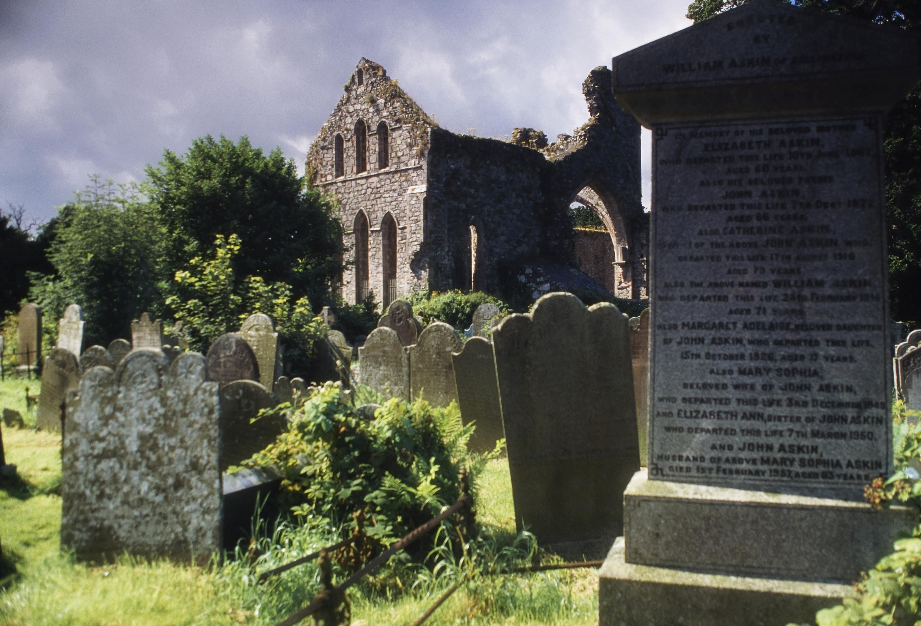 Greyabbey Cemetery, County Down, Ireland