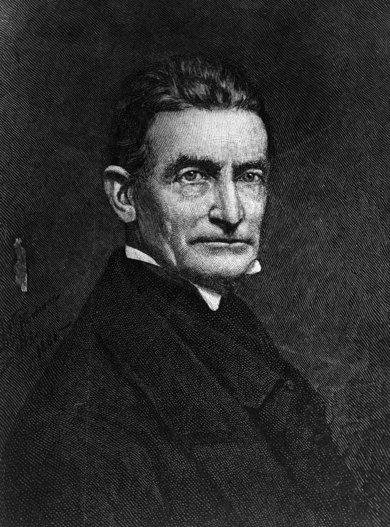 John Brown (1800 - 1859) the American abolitionist. The song in memory of his exploits during the Harpers Ferry Raid 'John Brown's Body' was a popular marching song with Union soldiers.
