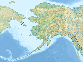 map of the connection between Siberia and Alaska