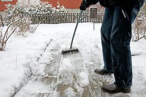 Tired of shoveling snow and ice? Use a chemical solution to your problem!