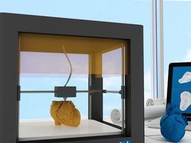 3D printing a heart