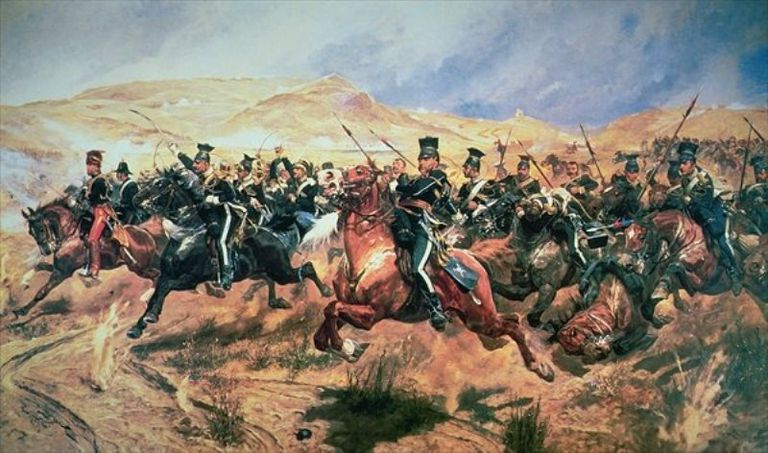 The Light Brigade at Balaclava