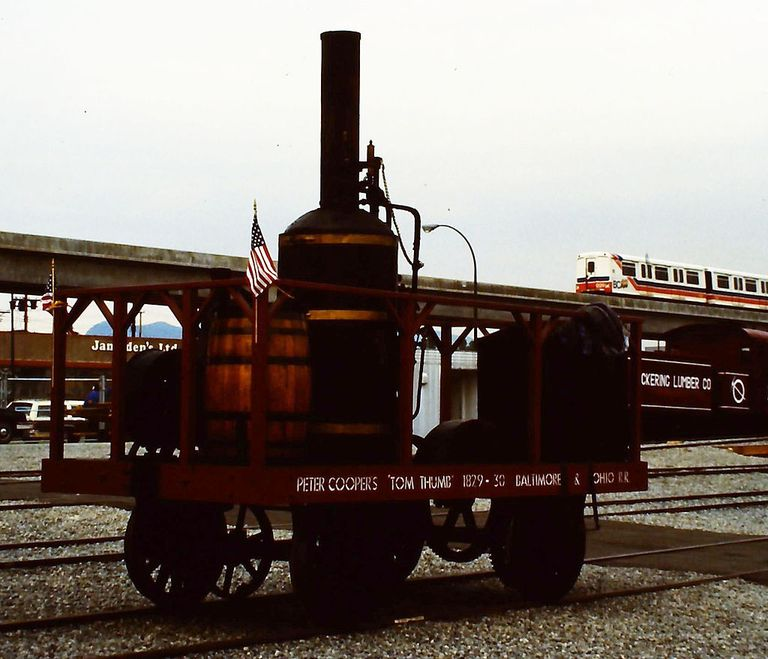 History of the Tom Thumb Steam Engine and Peter Cooper