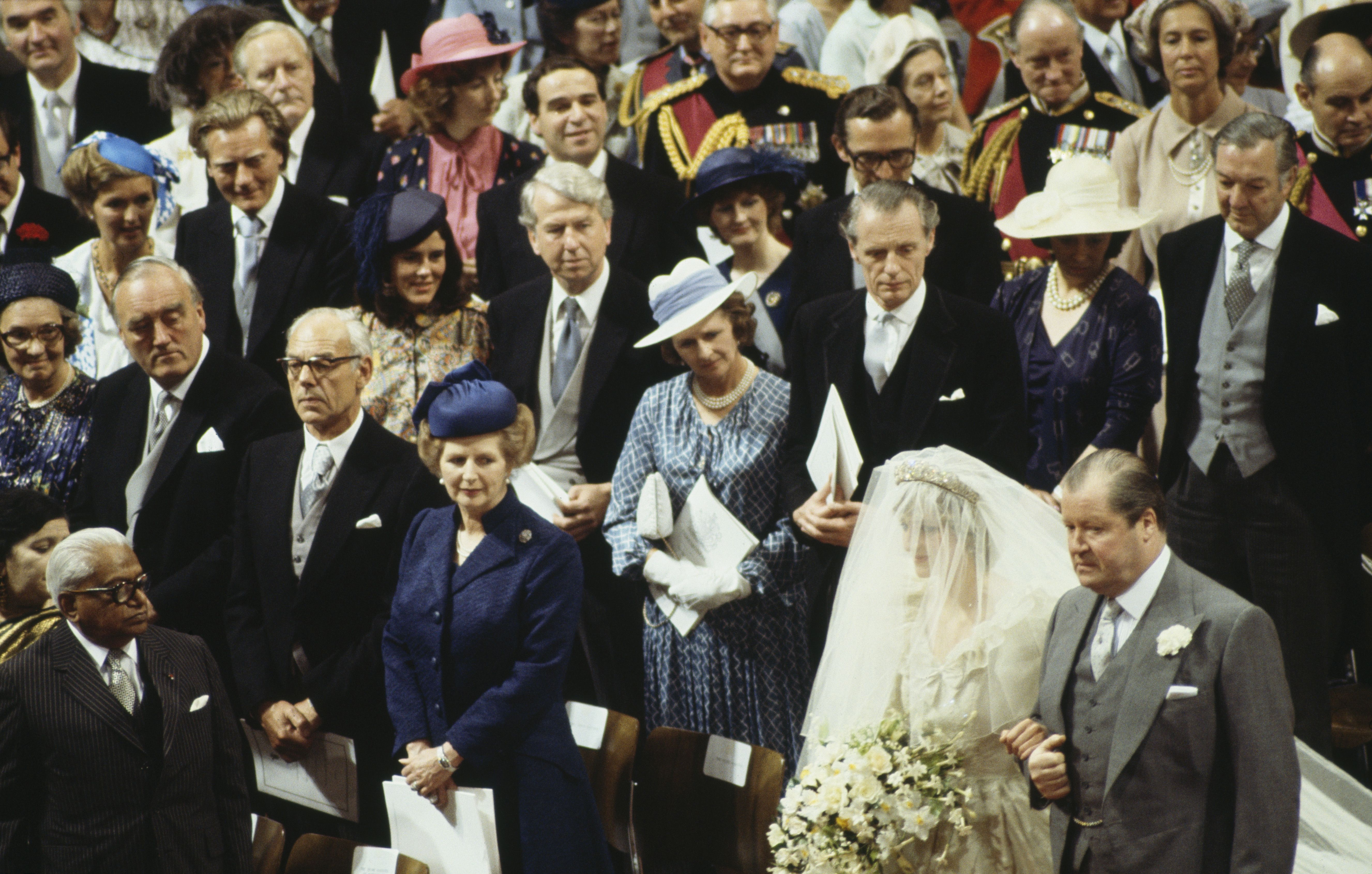 Lady Diana Spencer At St Paul S Cathedral