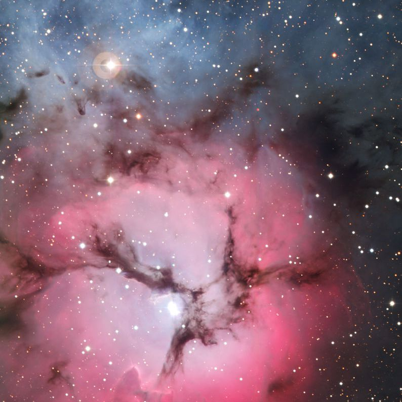 The Trifid Nebula in Sagittarius.
