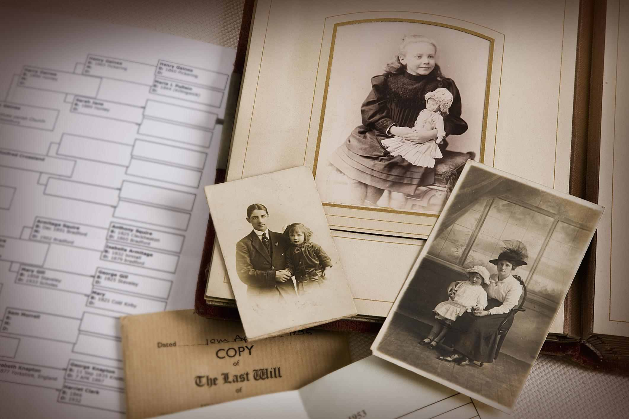 Ten Ways to Celebrate Family History Month