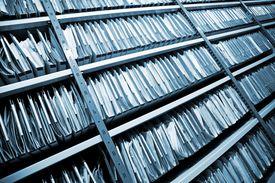 File Folders in storage