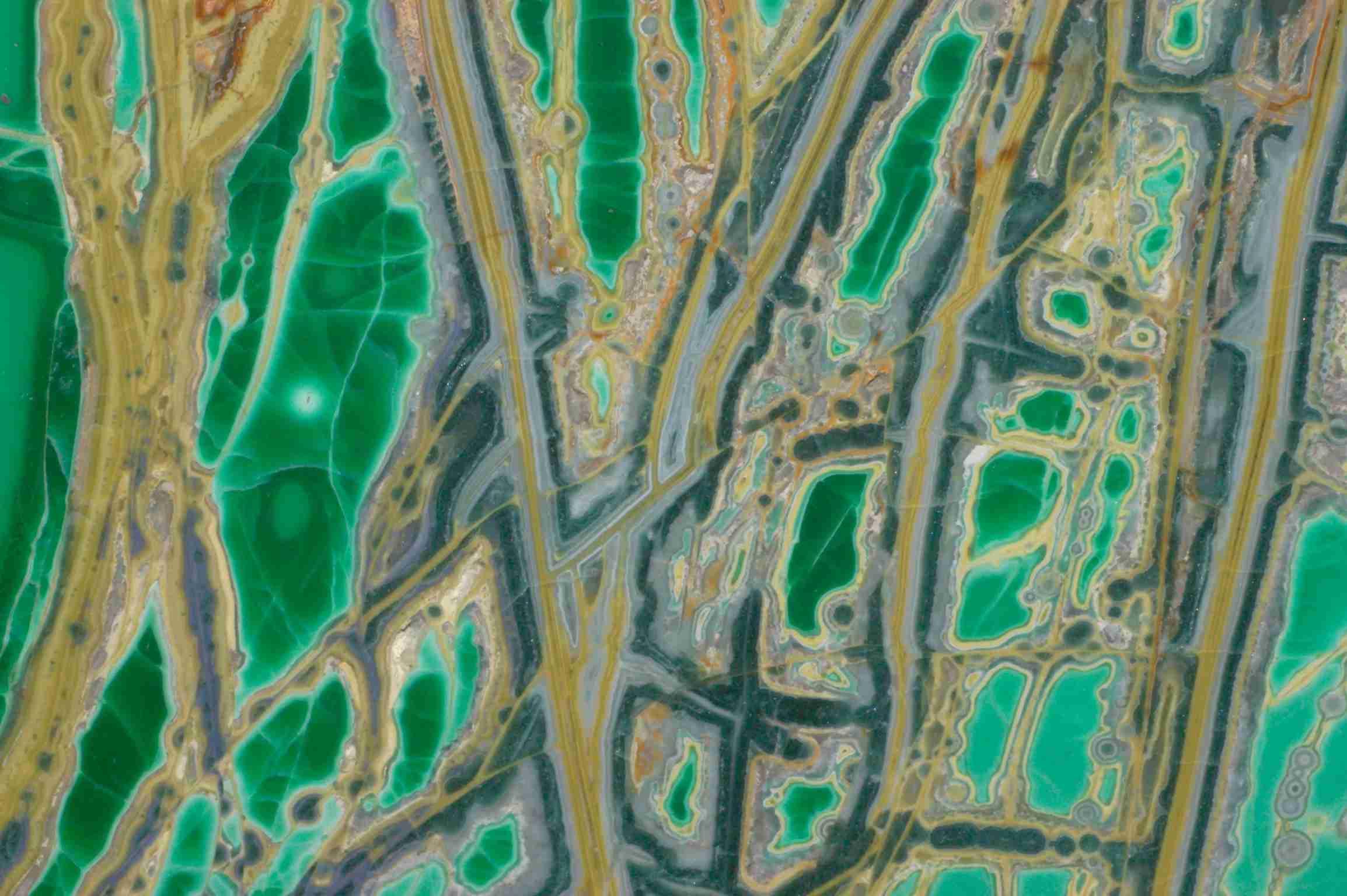 Variscite mineral, detail