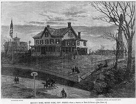 Edison's home, Menlo Park, New Jersey