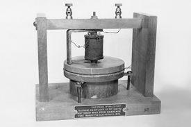 Alexander Graham Bell's first telephone