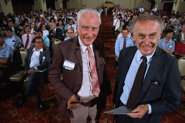 Dr. Francis Crick and Dr. James Watson