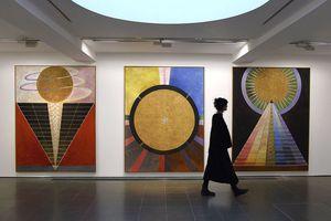 Hilma Af Klint Exhibition At Serpentine Gallery