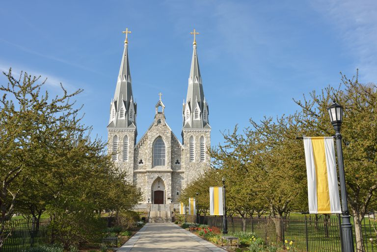 Church in Villanova University