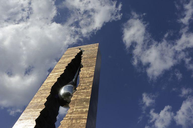 9/11 Teardrop Memorial in Bayonne, New Jersey