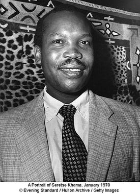 A Portrait of Seretse Khama, January 1970 © Evening Standard / Hulton Archive / Getty Images
