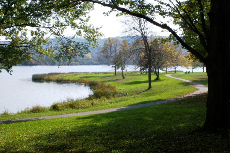Lackawanna Lake, 4 miles from the Keystone College Campus