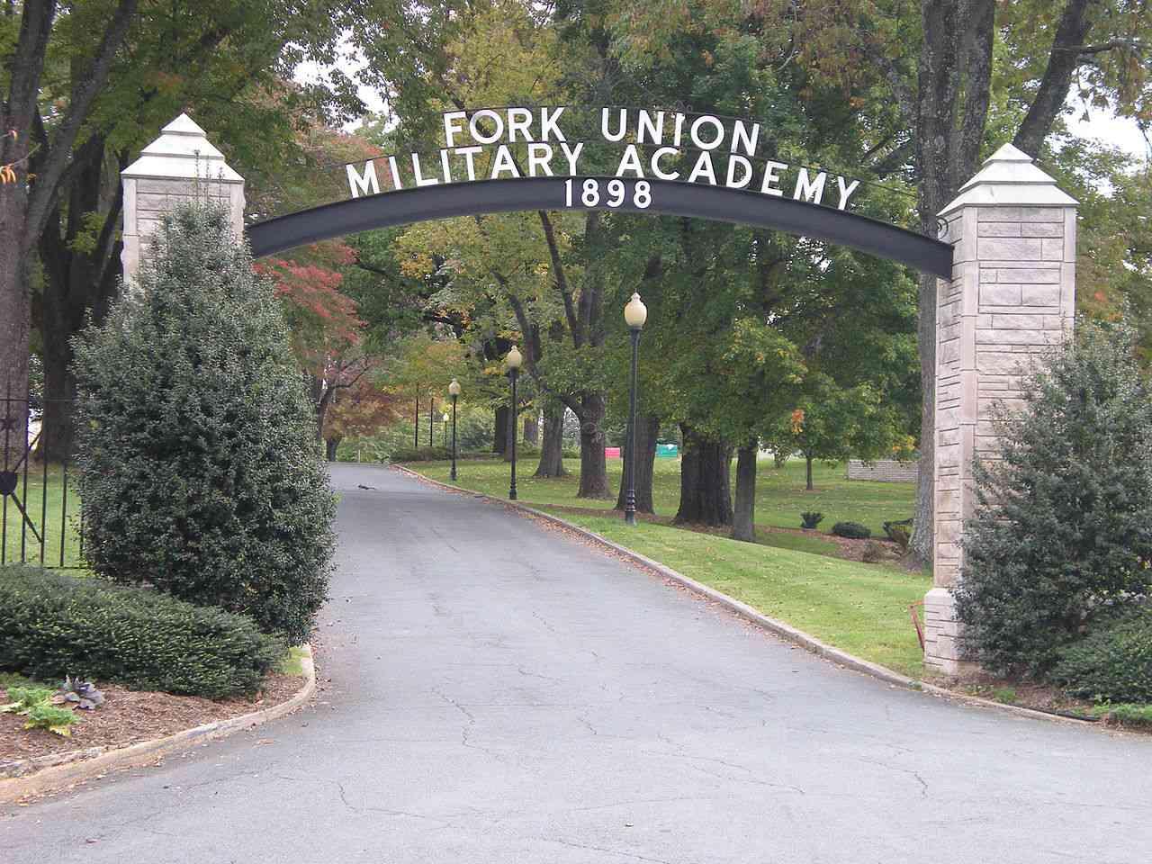 Fork Union Military Academy Entrance