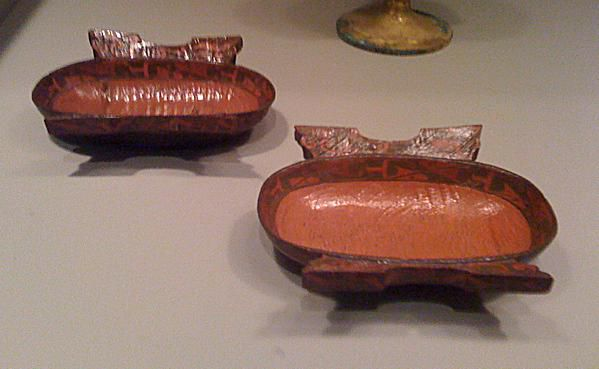 Lacquer Wine Cups from the Warring States Period of the Chou Dynasty. Minneapolis Institute of Arts